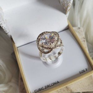 ❤️ *New*Charter Club Cubic Zirconia Ring Size 7 ❤️